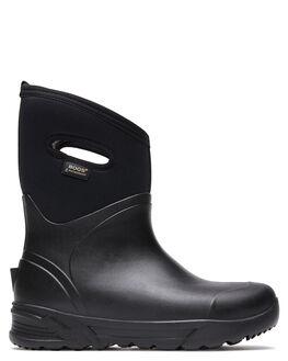 BLACK MENS FOOTWEAR BOGS FOOTWEAR BOOTS - 978534001