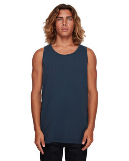 NAVY MENS CLOTHING BILLABONG SINGLETS - BB-9591501-NVY