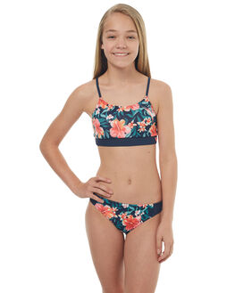 ISLAND TROPIC KIDS GIRLS ROXY SWIMWEAR - ERGX203110XBBR