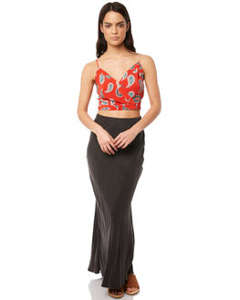 CHARCOAL WOMENS CLOTHING TIGERLILY SKIRTS - T381038CHAR