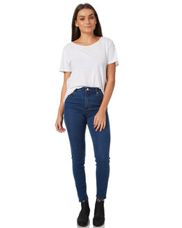 ALL MINE WOMENS CLOTHING A.BRAND JEANS - 71206ALM