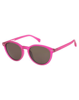 MATTE CRYSTAL PINK KIDS GIRLS ROXY SUNGLASSES - ERGEY03004XMMS