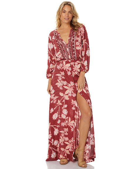 OLD ROSE WOMENS CLOTHING TIGERLILY DRESSES - T375423OROS