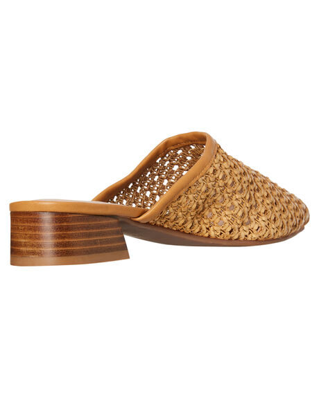 TAN WOMENS FOOTWEAR WALNUT HEELS - AVERYTAN