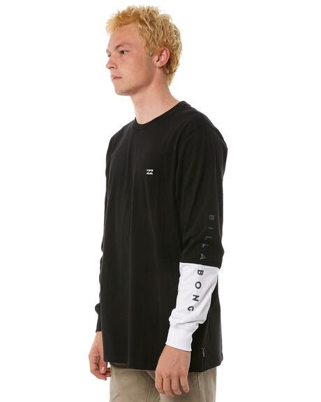BLACK MENS CLOTHING BILLABONG TEES - 9585176BLK