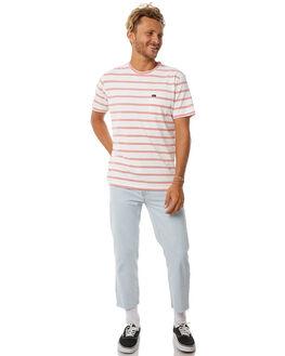 ANTIQUE WHITE MENS CLOTHING RVCA TEES - R171071AWHT