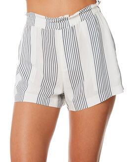 NAVY STRIPE WOMENS CLOTHING ELWOOD SHORTS - W84617NVYST