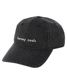 VINTAGE BLACK MENS ACCESSORIES BARNEY COOLS HEADWEAR - 904-CR3VBLK