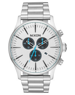 ALL SILVER BLACK MENS ACCESSORIES NIXON WATCHES - A3862871