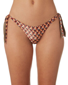 MULTI WOMENS SWIMWEAR TIGERLILY BIKINI BOTTOMS - T382568MLT
