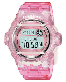 PINK JELLY WOMENS ACCESSORIES BABY G WATCHES - BG169R-4PNKJ