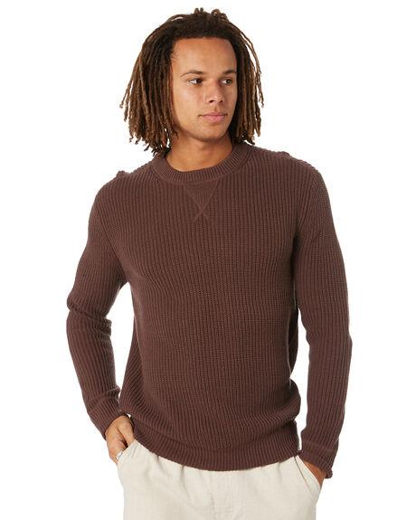 BROWN MENS CLOTHING DEPACTUS KNITS + CARDIGANS - D5221146BRN