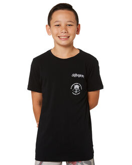 BLACK KIDS BOYS QUIKSILVER TOPS - EQBZT03777KVJ0