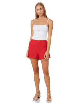 CHERRY OUTLET WOMENS ALL ABOUT EVE SHORTS - 6424010CHRY