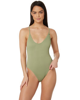 KHAKI WOMENS SWIMWEAR ALL ABOUT EVE ONE PIECES - 6428021KHK