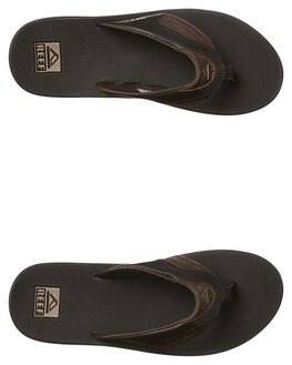 BROWN MENS FOOTWEAR REEF THONGS - 2156BRO