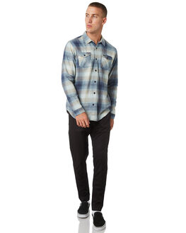 FEDERAL BLUE MENS CLOTHING RVCA SHIRTS - R393199FDBLU