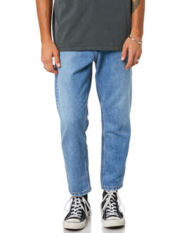 TRUCKER BLUE MENS CLOTHING THRILLS JEANS - TDP-414ETTBLUE