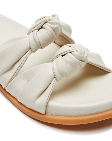 OFF WHITE WOMENS FOOTWEAR SOL SANA SLIDES - SS211S603OWHT