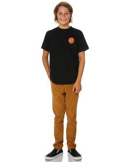 TAN KIDS BOYS ALPHABET SOUP PANTS - AS-KPA8371BTAN