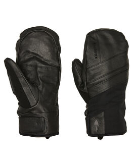 BLACK BOARDSPORTS SNOW POW GLOVES - RYM-A-L-GTX-BKBLK