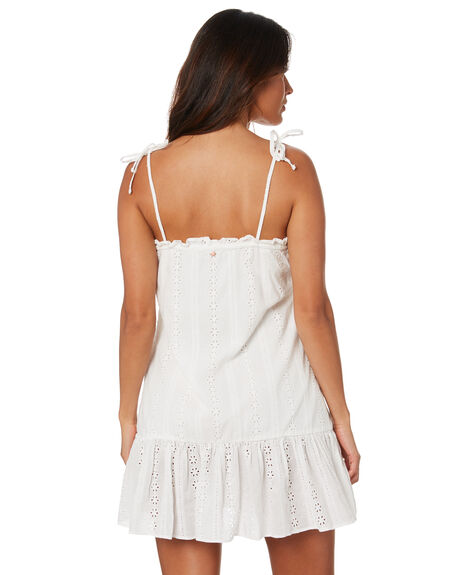 WHITE WOMENS CLOTHING RUSTY DRESSES - DRL1075WHT