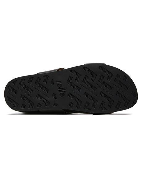 BLACK WOMENS FOOTWEAR ROLLIE FASHION SANDALS - SC00943BLK