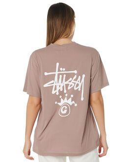 ATMOSPHERE WOMENS CLOTHING STUSSY TEES - ST191005ATM
