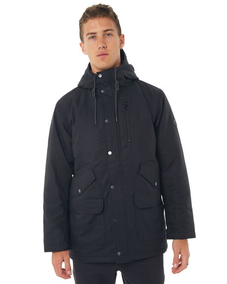 TRUE BLACK MENS CLOTHING BURTON JACKETS - 160901TBLK