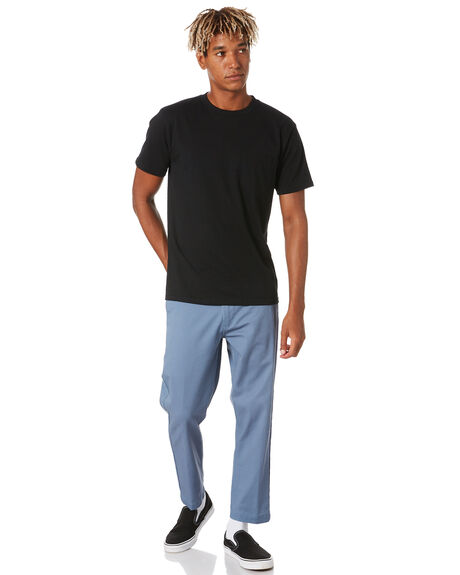 DULL BLUE MENS CLOTHING OBEY PANTS - 142020113DBLU