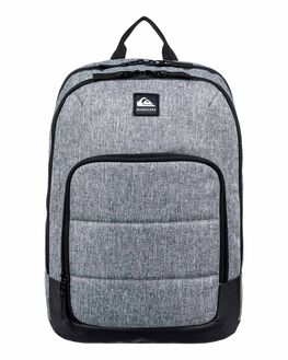 LIGHT GREY HEATHER MENS ACCESSORIES QUIKSILVER BAGS + BACKPACKS - EQYBP03573-SGRH