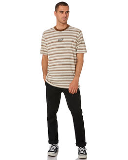 WHITE FLASH OUTLET MENS VOLCOM TEES - A0141902WHF