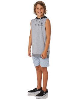 LIGHT BLUE KIDS BOYS ST GOLIATH SHORTS - 2420031LBU