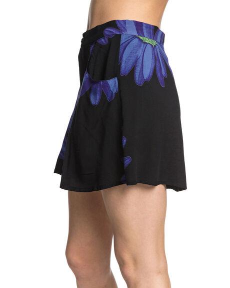 NEBULAS BLUE DAZEY WOMENS CLOTHING QUIKSILVER SHORTS - EQWNS03022-BQV6