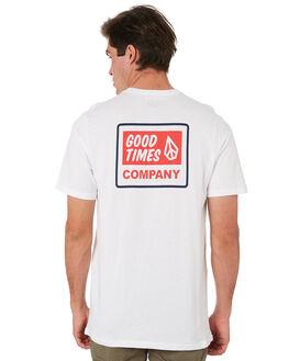 WHITE MENS CLOTHING VOLCOM TEES - A5001905WHT