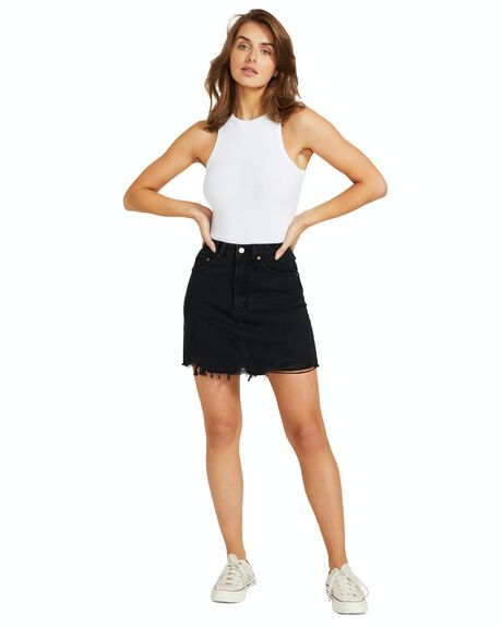 BLACK WOMENS CLOTHING INSIGHT SKIRTS - 37367400038