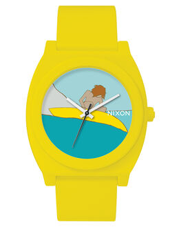 YELLOW MENS ACCESSORIES NIXON WATCHES - A119-3024YEL
