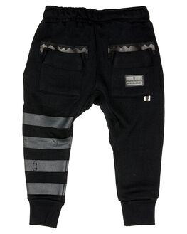 BLACK KIDS BOYS MUNSTER KIDS PANTS - MK192TR04KBLK