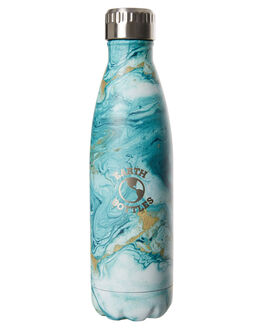 MARBLE GREEN MENS ACCESSORIES EARTH BOTTLES DRINKWARE - EBMG500MAGRN