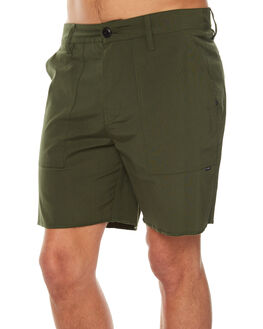 CARBON GREEN MENS CLOTHING HURLEY SHORTS - AMWSEMIL3LC
