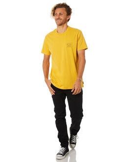 LIGHT MUSTARD MENS CLOTHING BILLABONG TEES - 9582035MUSTD