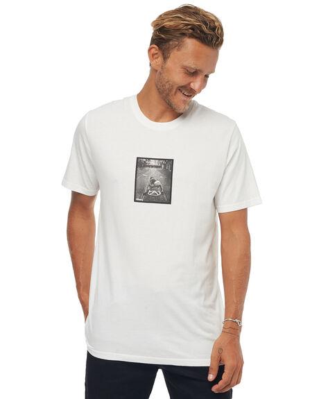 NATURAL MENS CLOTHING AFENDS TEES - M181004NAT