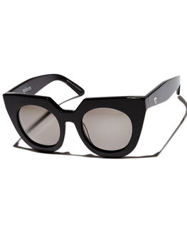 GLOSS BLACK BLACK WOMENS ACCESSORIES VALLEY SUNGLASSES - S0101BBTOR