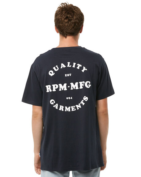 NAVY OUTLET MENS RPM TEES - 8AMT03ANVY