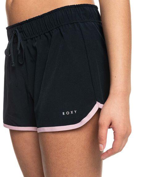 ANTHRACITE WOMENS CLOTHING ROXY ACTIVEWEAR - ERJNS03346-KVJ0