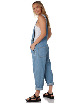 DAY SHIFT BLUE WOMENS CLOTHING DR DENIM PLAYSUITS + OVERALLS - 2010115I34DSHBL