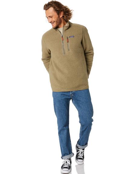 SAGE KHAKI MENS CLOTHING PATAGONIA JUMPERS - 22811SKA