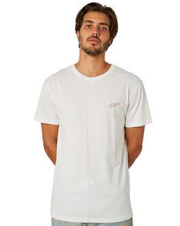 WHITE MENS CLOTHING RHYTHM TEES - APR19M-PT01-WHT