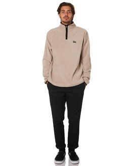 SAND MENS CLOTHING STUSSY JUMPERS - ST096201SAND
