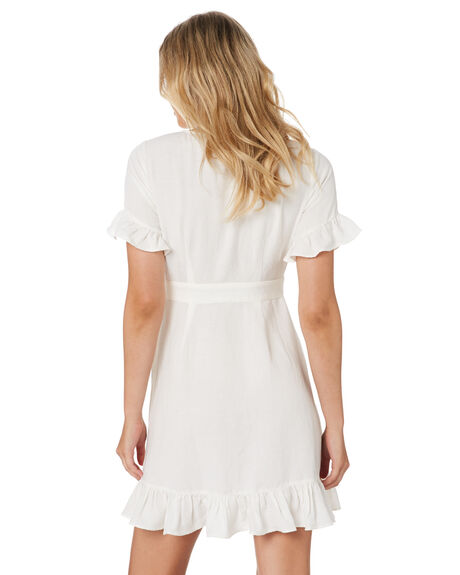 WHITE WOMENS CLOTHING TIGERLILY DRESSES - T305462WHT